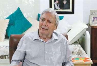 El alcalde cruceño, Percy Fernández