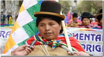Felipa Huanca es investigada