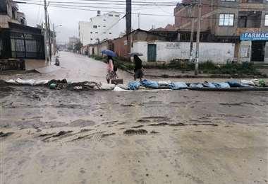 Este miércoles se tuvo una nueva lluvia en Tiquipaya. (Foto: Humberto Ayllón)