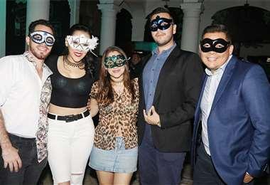 ¿Quiénes son?. Othniel Ibarra, Andrea Camacho, Lizel Coha, Fabio Justiniano y Rodrigo Ascuy. Foto: Ángel Farell