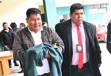 León fue aprehendido este jueves. (Foto: APG)