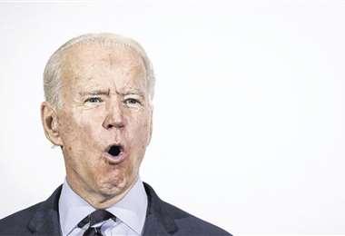 El aspirante demócrata. Foto: AFP