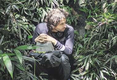 Landes se adentró en la selva colombiana y experimentó todas las dificultades técnicas que uno se pueda imaginar al momento de filmar