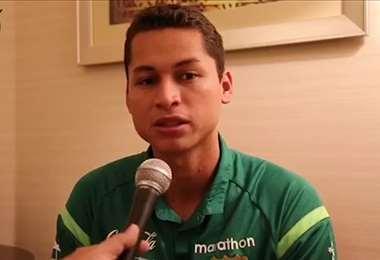 Jordy Candia dijo estar arrepentido de la agresión contra el delantero uruguayo Nicolás Royón. Foto: Internet