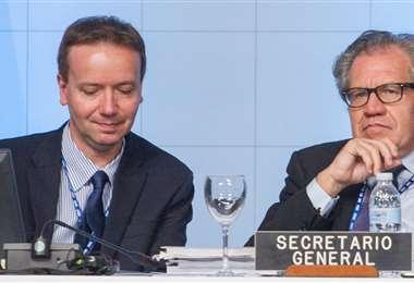 Gonzalo Koncke, Jefe del Gabinete del Secretario General