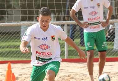 Henry Vaca fue capitán de la selección sub-23 que disputó el Preolímpico de Colombia. Foto: Jorge Ibáñez