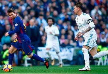 El clásico español del domingo enfrentará al primero y segundo del torneo. Foto: Internet