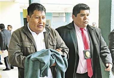 La Fiscalía de La Paz los presentará ante un juez para que se defina su situación jurídica. Foto: APG NOTICIAS
