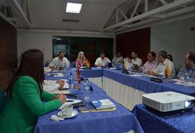 Los representantes de los países de la CAN se reunieron en Colombia. Foto: CAN
