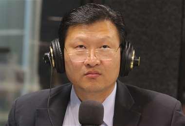 Los dirigentes de FPV acudirán al TSE si Chi Hyun Chung no renuncia. Foto: Rolando Villegas