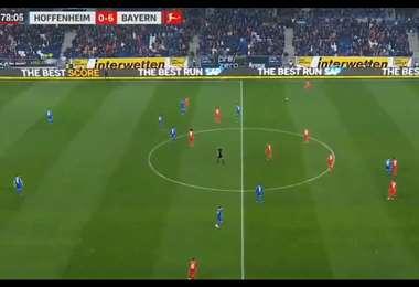 Hoffenheim y Bayern responden a ultras finalizando el partido con una tregua