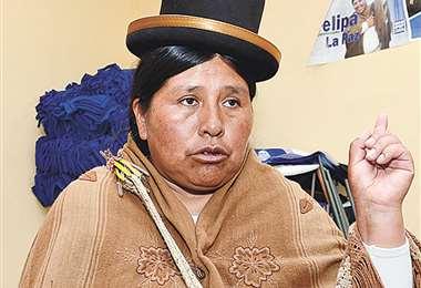 Huanca fue detenida por la Policía el jueves por la mañana.