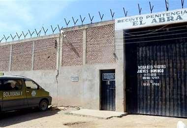 La cárcel de máxima seguridad de El Abra está en Cochabamba. Foto: Página Siete