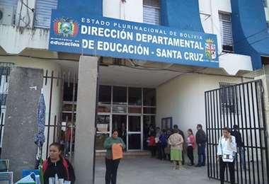 Edificio del Seduca en Santa Cruz. Foto: El Mundo