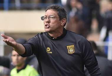 Mauricio Soria, director técnico de The Strongest. Foto. Archivo DIEZ