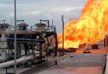 Atacan con explosivos un gasoducto en la península de Sinaí, en Egipto