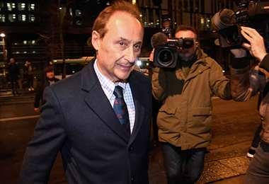 Didier Gailhaguet, presidente de la Federación de Patinaje de Francia. Foto: AFP