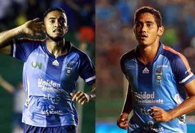 Rafinha y Rafael Barros son jugadores que marcan diferencia en Blooming. Foto: EL DEBER