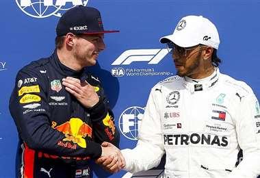 Verstappen y Hamilton, dos candidatos a quedarse con el campeonato de F-1 este 2020. Foto. Internet