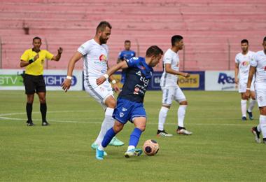 El partido entre Real Santa Cruz y San José es reprogramado de la tercera fecha del Apertura. Foto. William Cruz
