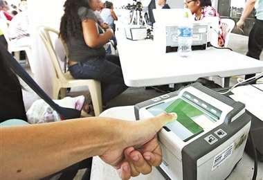 El empadronamiento se realizó en todo el país, pero solo hay alquiler de vehículos en La Paz