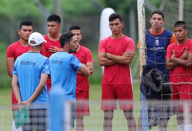 La academia cruceña se enfrentará a Emelec en partido de ida por la Copa Sudamericana. Foto. Jorge Gutiérrez