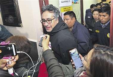 Gustavo Torrico seguirá esperando en carceletas judiciales