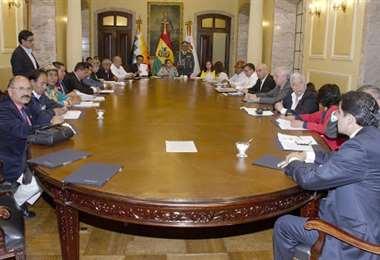 La reunión tendrá lugar en La Paz I Foto: archivo.