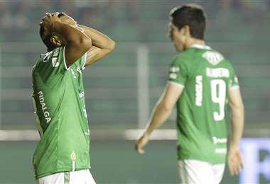 El fútbol boliviano también está afectado por la pandemia. Foto: Ricardo Montero