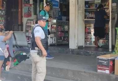 El operativo fue realizado en mercados y el centro de la ciudad