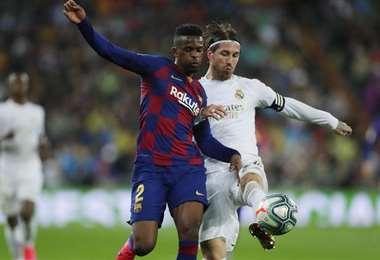 El Barcelona lidera el campeonato español seguido de su clásico riva, el Real Madrid. Foto: Internet