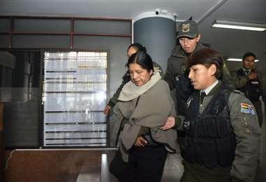 La exautoridad está detenida desde noviembre I Foto: APG Noticias.