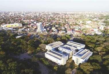 Imagen aérea de la Quinta municipal