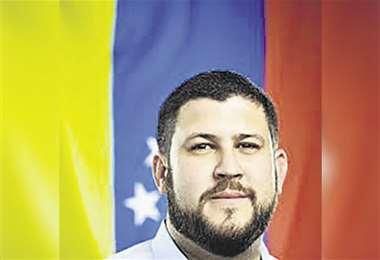 Smolansky fue uno de los alcaldes más jóvenes de Venezuela