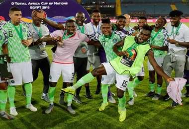 Nigeria ocupó el tercer lugar en la Copa de África de Naciones de 2021. Foto: Internet