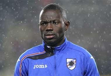 Omar Colley, defensor del Sampdoria. Foto: Internet