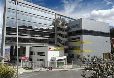 El centro médico en la urbe paceña I Foto: archivo.