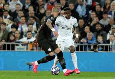 Uno de los partidos postergados por la Liga de Campeones es Manchester City-Real Madrid. Foto: Internet