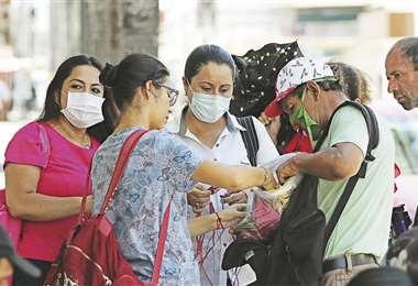 Instan a la población al autocuidado para contener la expansión del virus. Foto: Jorge Gutiérrez