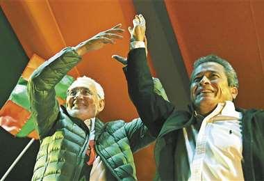 Carlos Mesa y Gustavo Pedraza combinan la campaña electoral con medios digitales