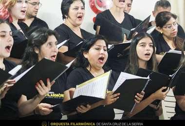 La Orquesta Filarmónica tenía prevista una presentación los próximos días. Foto: Orquesta Filarmónica