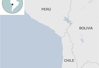 El Gobierno chileno garantiza el flujo normal de carga para no afectar el abastecimiento de productos. Foto: BBC