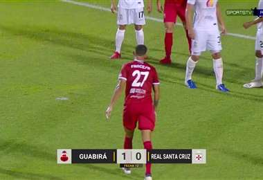 Guabirá y Real Santa Cruz se enfrentaron en el estadio Gilberto Parada, de Montero