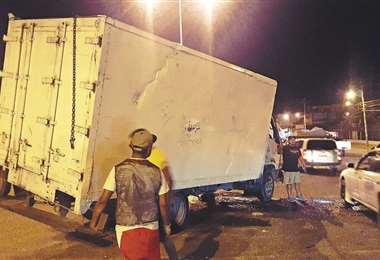 El motorizado fue retenido tras protagonizar el accidente fatal