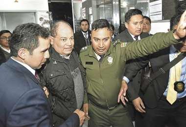El exministro Carlos Romero se encuentra con detención preventiva en la cárcel de San Pedro, en La Paz. Foto: APG