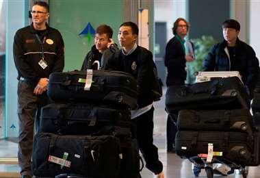 Los futbolistas de Wuhan Zall volvieron a su país después de cerca de dos meses. Foto. Internet