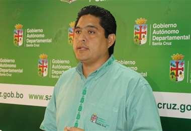 Marcelo Ríos, titular del Servicio Departamental de Salud