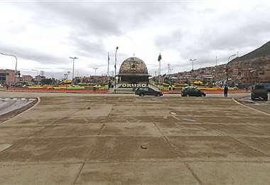 Así lucía ayer la capital folclórica del país, donde rige la cuarentena desde las 15:00. Los controles de las autoridades empiezan a las 17:00