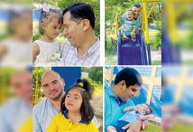 Homenaje. Testimonios de padres con niños únicos, dulces e irrepetibles. Ellos conforman con orgullo la familia de Fusindo