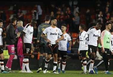 Cinco jugadores de Valencia están en cuarentena por el coronavirus. Foto. Internet